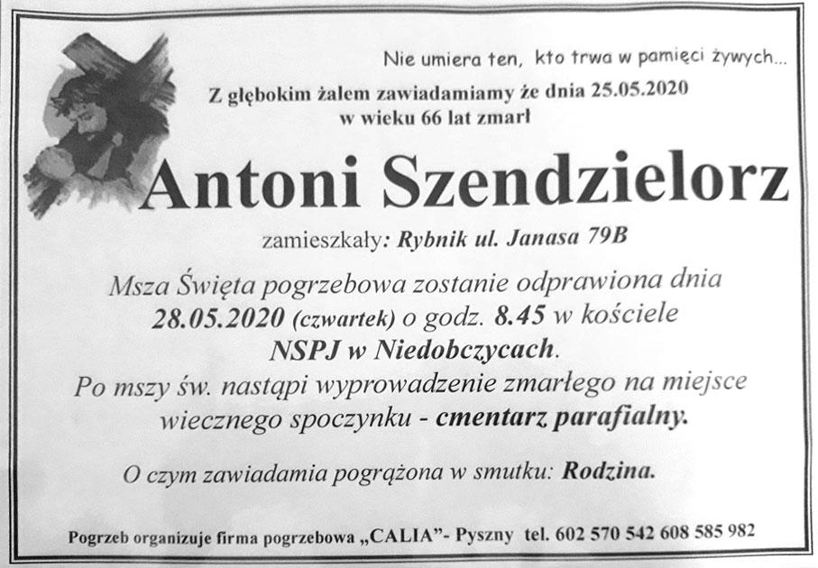 Antoni Szendzielorz
